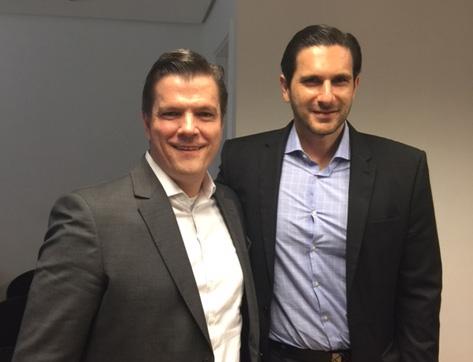 Fabio Gallo, Presidente eleito e Frederic Kachar ex presidente