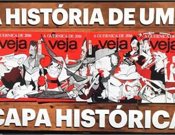 A história de uma capa histórica