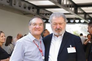Presidente da ESPM Dalton Pastore e Thomaz Souto Corrêa – Vice Presidente do Conselho Editorial da Editora Abril