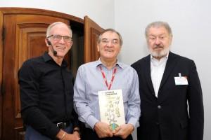 John Wilpers com o Presidente da ESPM Dalton Pastore  e Thomaz Souto Corrêa – Vice Presidente do Conselho Editorial da Editora Abril