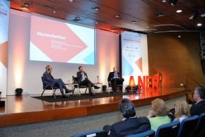 Painel Newsletter com John Wilpers,  João Sandrini – Diretor do Infomoney e Daniel Bergamasco – Editor do Veja.com da Editora Abril