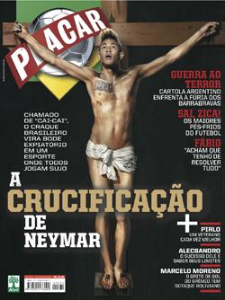 Placar: A Crucificação de Neymar - Outubro/2012
